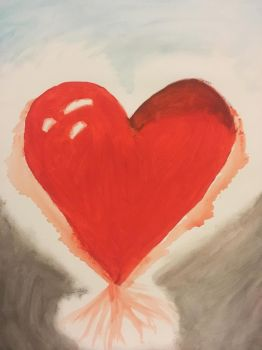 Melting Heart Painting by EpicRoleplays