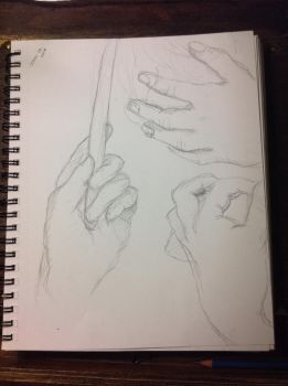 even MORE hand proportions! by TheAlchemist31011
