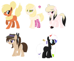 Tons of adoptables [CLOSED] by xx-Chanour