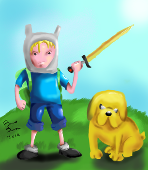 Adventure Time by brusife