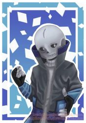 Blade!Sans in Medibang Paint by 1redphoenix1