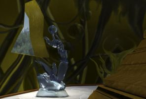 Close Up on the Mermaid statue by TheSorceressRaven