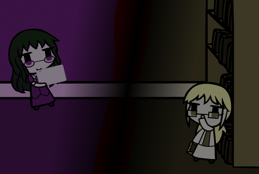 Walfas Ronpa 2: The Violet and The Beige by trynt33