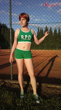 Rebecca Chambers RE Basketball cosplay VI by Rejiclad
