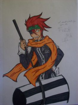 Lavi - For Grace by RokubiThunder