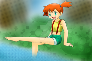Misty pokemon by CieloKity