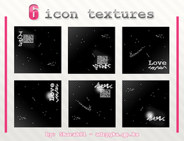 6 Icon textures by Sharah11