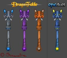 Anderson's Purring Wand (All Versions) by Occavatra