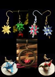A Little Origami - Jewelry and Gifts! by DorynaSira
