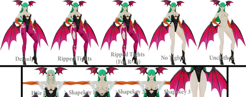 R-18 Ready Morrigan Aensland (Done) by AWESOMEKILLING