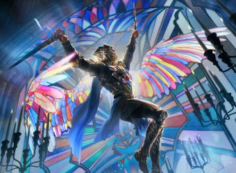 MtG: On Serra's Wings by algenpfleger