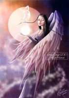 Angel of Change of Life by AmberCrystalElf