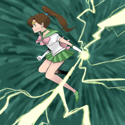 Sailor Jupiter Gift by pyrofire2007