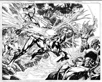 Brightest Day 11 pages 04 n 05 by JoePrado2010