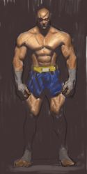 Sagat sketch by FUNKYMONKEY1945
