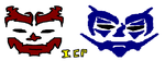 icp faces by VikingJuggaloOle