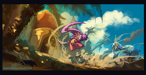 SGDQ2018 - Shantae and the Pirate Curse by knight-mj