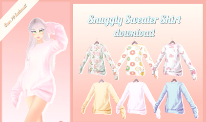 Snuggly Sweater - MMD Download by Shiremide1