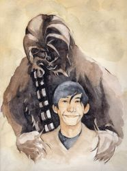 Chewie and Ben by stuponitron