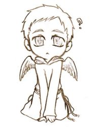 Young Castiel by ILsama