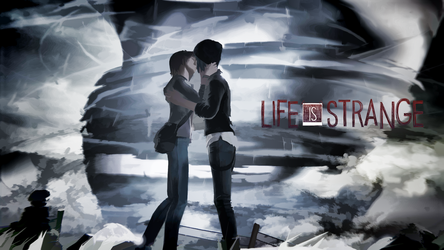 Max and Chloe (Ending) Wallpaper (16:9) by thewr2