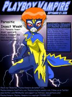 Blue Static - Electrifying Heroine - Cover by PlayboyVampire