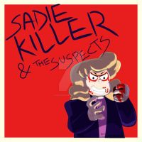 SADIE KILLER FROM STEVEN UNIVERSE SPEED DRAWING by IDROIDMONKEY