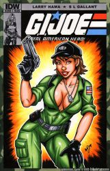 Lady Jaye sketch cover by gb2k
