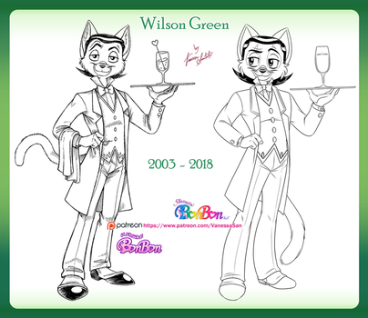 Wilson redrawing by vanessasan