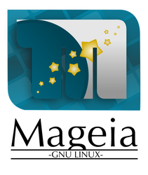 Starry M -Mageia Linux logo- by eleefece