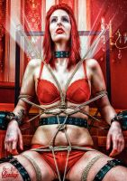 Beauty of Rope V, Fine Art of Bondage - Calendar by Model-Space