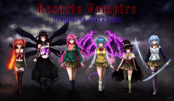 Rosario Vampire: Brightest Darkness Saga Cover by AG-Publishing