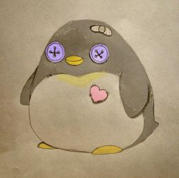 penguin by flowersforthoughts
