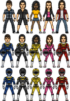 Power Rangers Turbo Alternate 2 by SpiderTrekfan616