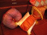 oriental-style pillows by synesthesea