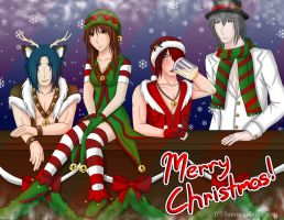 Merry X-mas from Team Chisoku by Samuraiflame