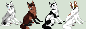 +Point adoptables 42+ by Squiggy-Adoptables