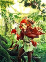Whisper of the Forest by Livanya