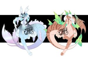 Orcadragon Adopts 12 [CLOSED] by JunkYardRabbit