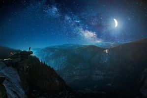 Starry night by IlouS