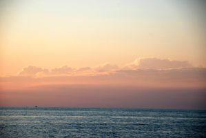 Beautiful Clouds over Lake Erie by MogieG123