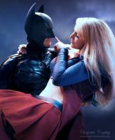 Batman and Supergirl by chiquitita-cosplay