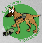 Comission - TEDD Detachment by MauserGirl