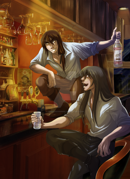 Men's Night Out by annagiovannini