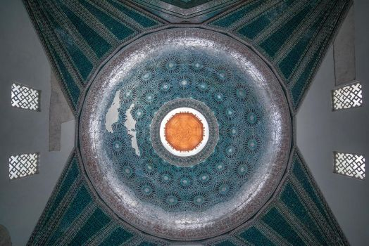 The Dome of Karatay Madrasa by Lectronic