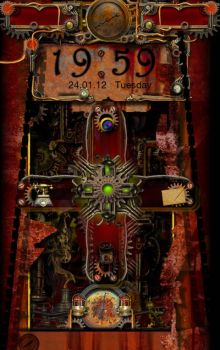 Steampunk Themed Android Lock Screen by mindseed-design