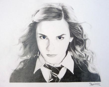 Hermione Granger - Emma Watson by ginas-cakes