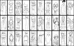30 Characters Challenge by Apkinesis