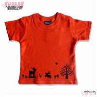 Organic Baby Shirt - Red Riding Hood by shiricki