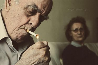 Not another smoke Harold by ennil